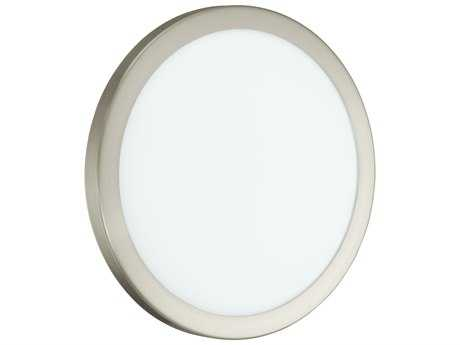 Eglo Arezzo LED Matte Nickel 14'' Wide Flush Mount Light