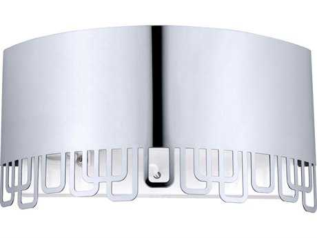 Eglo Fenella Stainless Steel Wall Sconce