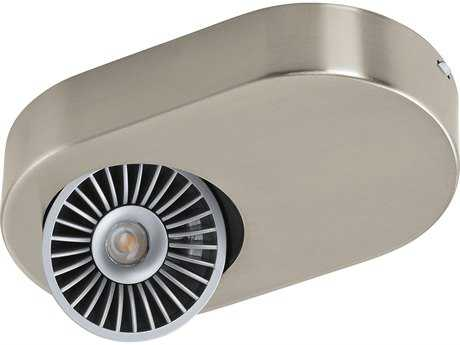 Eglo Montale Matte Nickel 7.5'' Wide LED Spot Light