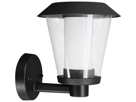 Eglo Blyth Black LED Outdoor Wall Light (Upward Position)