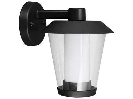 Eglo Blyth Black LED Outdoor Wall Light (Downward Position)