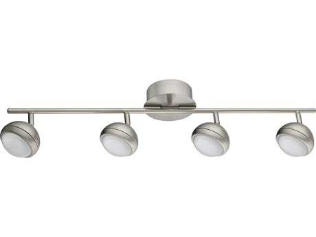Eglo Lombes I Matte Nickel Four-Light 31'' Long LED Track Light