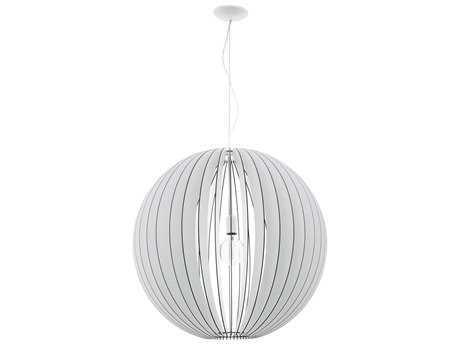 Eglo Cossano White 28'' Wide Pendant Light