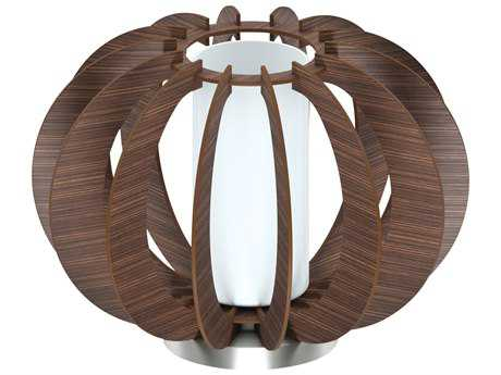 Eglo Stellato Dark Brown Wood Table Lamp