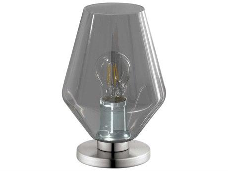... Eglo Murmillo Matte Nickel Table Lamp