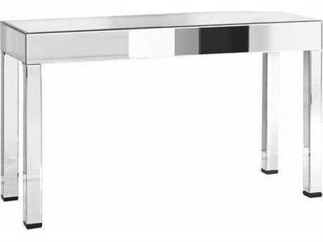 Elegant Lighting Modern Clear Mirror 55.5''L x 20''W Rectangular Console Table