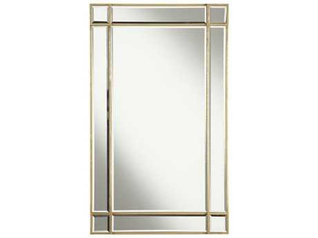 Elegant Lighting Florentine 22''W x 36''H Gold & Clear Wall Mirror