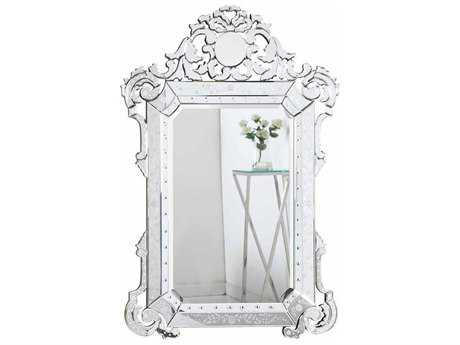Elegant Lighting Venetian 39''W x 55''H  Clear Wall Mirror