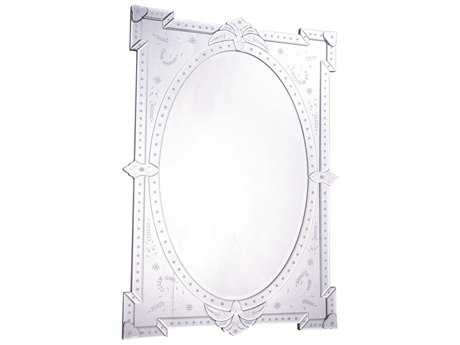 Elegant Lighting Venetian 29''W x 41''H Clear Wall Mirror