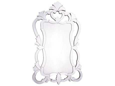 Elegant Lighting Venetian 26''W x 43''H Clear Wall Mirror