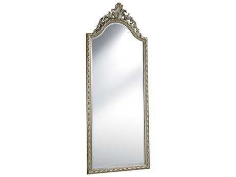 Elegant Lighting Antique 32''W x 78''H Silver Floor Mirror