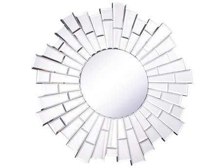 Elegant Lighting Modern 23.5'' Wide Clear Wall Mirror