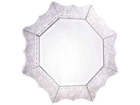Elegant Lighting Modern 32'' Round Clear Wall Mirror