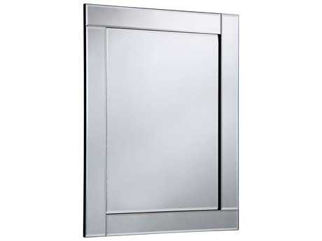 Elegant Lighting Modern 28''W x 39''H Clear Wall Mirror