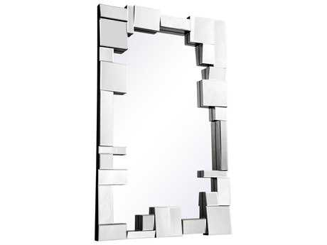 Elegant Lighting Modern 31.5''W x 50''H Clear Wall Mirror