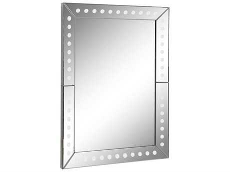 Elegant Lighting Antique 36''W x 48''H Clear Wall Mirror