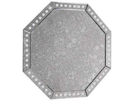 Elegant Lighting Antique 44' Round Clear Wall Mirror