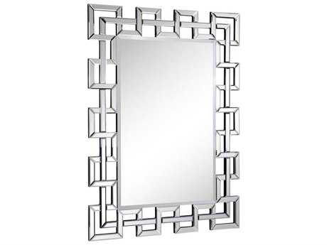 Elegant Lighting Modern 48''W x 35''H Clear Wall Mirror