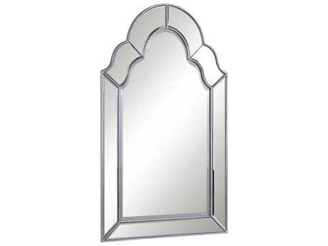 Elegant Lighting Antique 25''W x 42''H Clear Wall Mirror