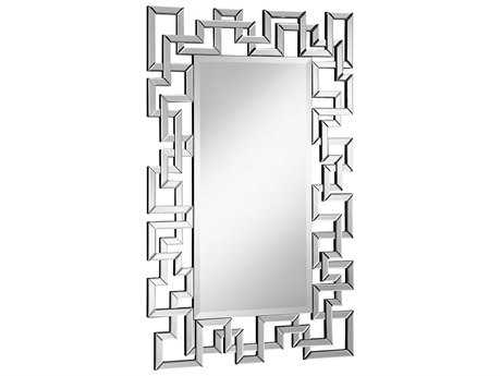 Elegant Lighting Modern Clear 30''W x 48''H Rectangular Wall Mirror