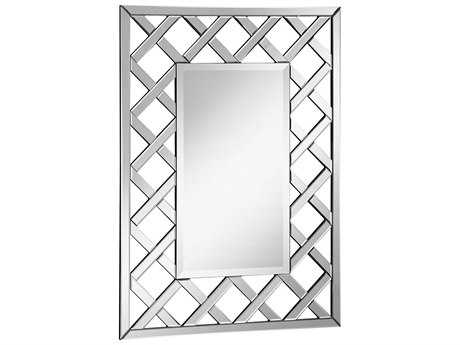 Elegant Lighting Modern Clear 29''W x 40''H Rectangular Wall Mirror