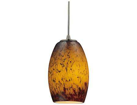 Elk Lighting Maui Satin Nickel 5'' Wide Pendant