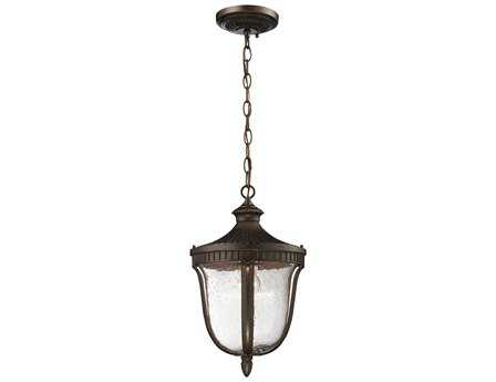 Elk Lighting Worthington Weathered Rust Pendant