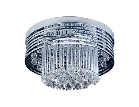 Elk Lighting Rados Polished Chrome 13-Light 19'' Wide Flush Mount Light
