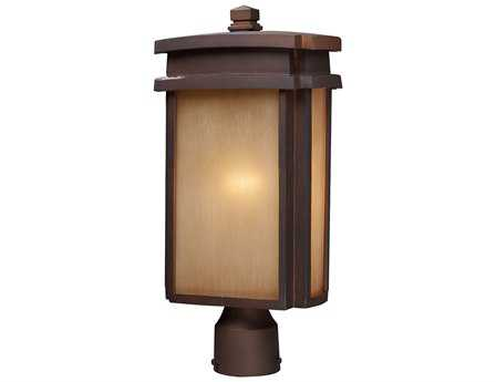 Elk Lighting Sedona Clay Bronze Outdoor Post Light