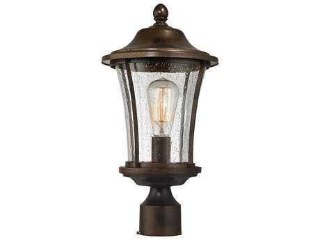 Elk Lighting Morganview Hazelnut Bronze Outdoor Post Lantern