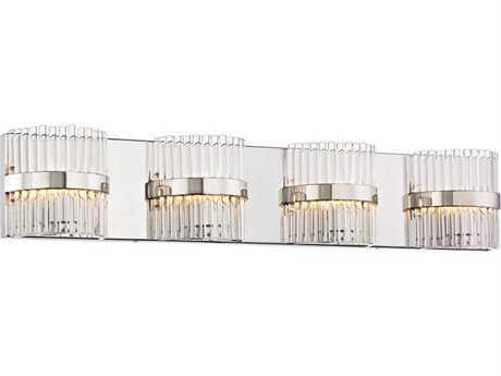 Elk Lighting Nescott Polished Chrome Four-Light Vanity Light
