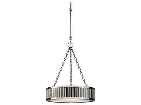 Elk Lighting Linden Polished Nickel Three-Light 20'' Wide Pendant