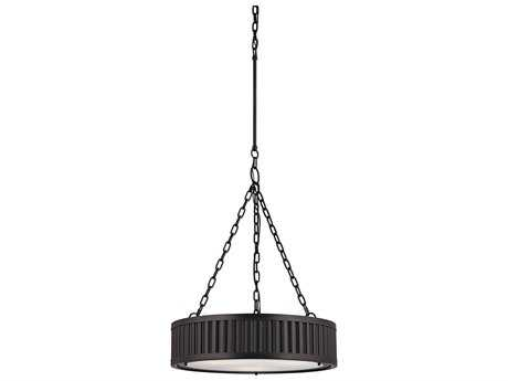 Elk Lighting Linden Oil Rubbed Bronze Three-Light 20'' Wide Pendant