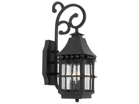 Elk Lighting Taos Espresso Two-Light 5.5'' Wide Outdoor Wall Light