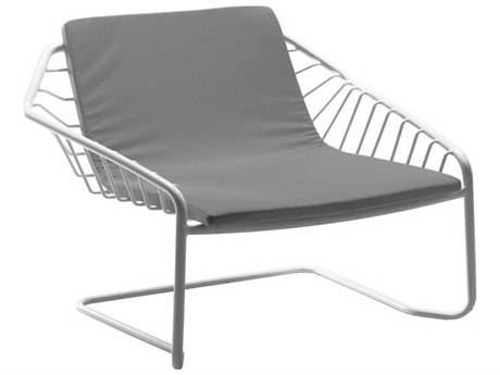 EMU Cantilever Steel Wrought Iron Lounge Chair