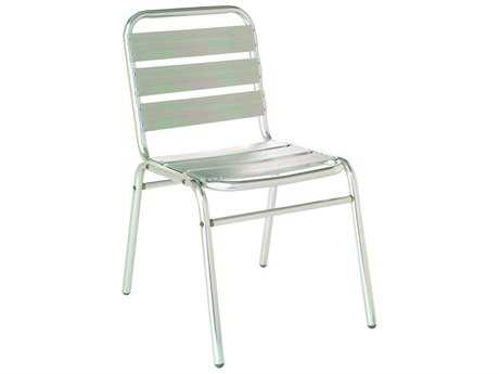 EMU Flora Aluminum Stacking Dining Side Chair PatioLiving
