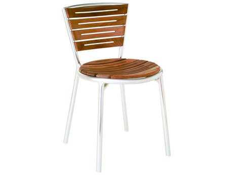 EMU Karen Aluminum Stacking Side Chair PatioLiving