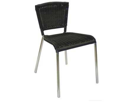 EMU Laura Aluminum Stackable Side Chair