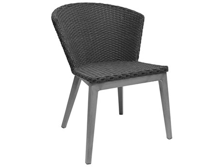 EMU Elly Driftwood Aluminum Side Chair