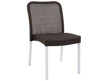 EMU Rita Aluminum Stacking Side Chair