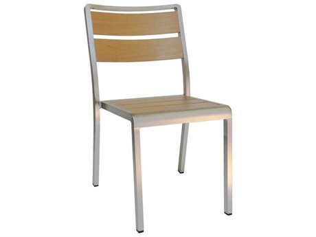 EMU Sid Aluminum Stackable Side Chair