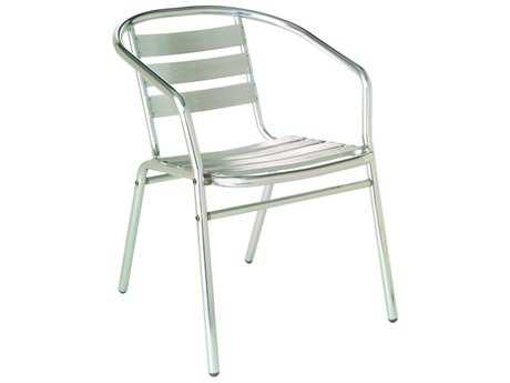 EMU Sara Aluminum Stacking Dining Arm Chair PatioLiving