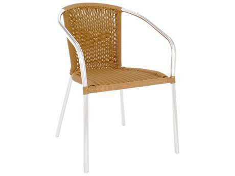 EMU Laura Aluminum Stackable Arm Chair