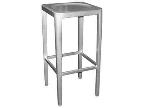 EMU Anna Aluminum Backless Barstool