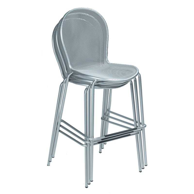 Emu Ronda Steel Stacking Bar Stool Sold In 2 Em128