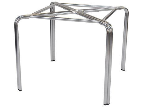 EMU Zeus Aluminum Square Table Base PatioLiving