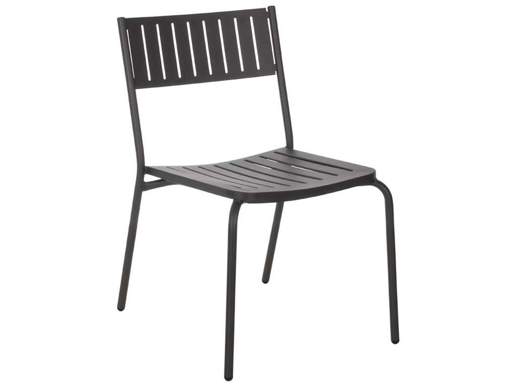 Emu Bridge Steel Stacking Dining Chair Sold In 4