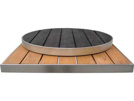 EMU Sid Aluminum 35 Round Table Top