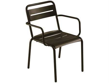 EMU Star Steel Stacking Arm Chair (Sold in 4)