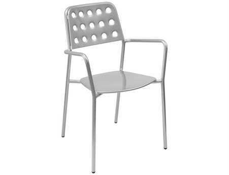 EMU Shot Steel Stacking Arm Chair (Sold in 4)